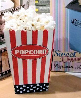 Lecker Popcorn? Und in Ruhe dabei alle Bilder des Films ansehen ... eine super Sache!