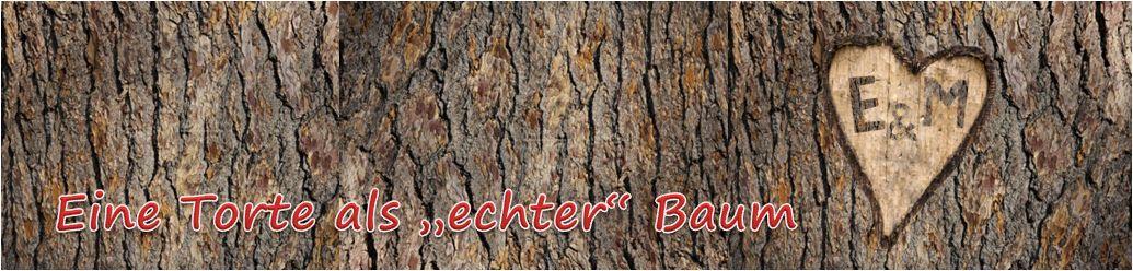 Ein Baum als ganz wichtiges Symbol - gerne auch mit einem eingeritztem Herz und den individuellen Monogrambuchstaben der Verliebten ...