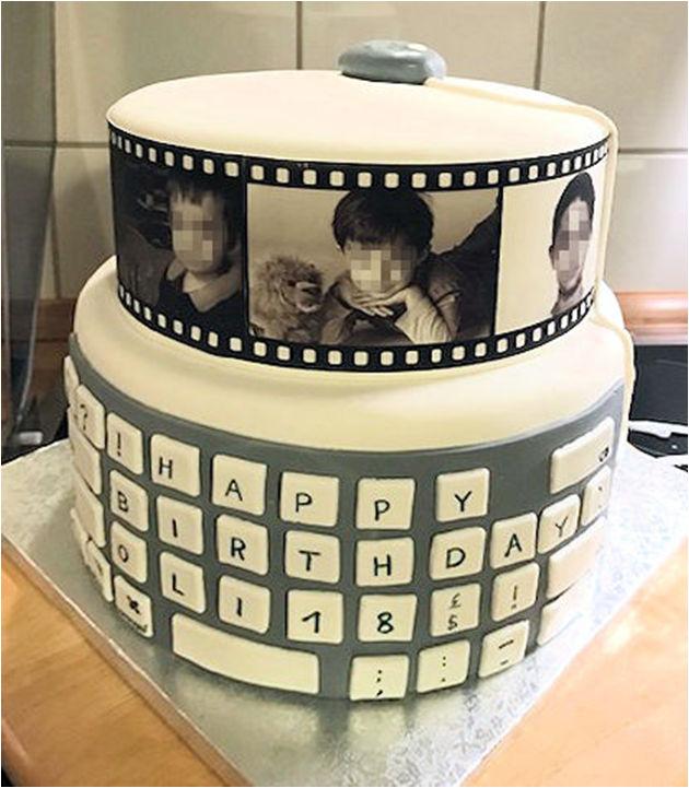 Eine interessante Kombination zwischen einem Film und einer sehr individuellen Geburtstagstorte.